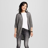 Mossimo Women's Hachi Cocoon Cardigan Stripe