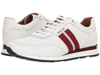 Bally New Aston Sneaker (White) Men's Lace up casual Shoes