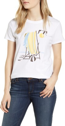 Lucky Brand Beach Chair T-Shirt