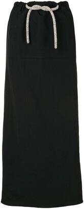 CHRISTOPHER ESBER Crystal-Embellished Cargo Skirt