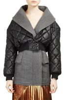 Stella McCartney Alter Nappa Cropped Puffer Jacket