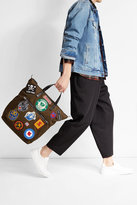 DSQUARED2 Canvas Tote with Patches