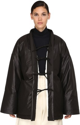 Jil Sander Reversible Quilted Cotton Blend Coat
