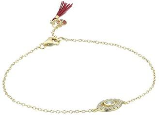 Shashi Evil Eye Pave Bracelet (Gold/Vermeil) Bracelet