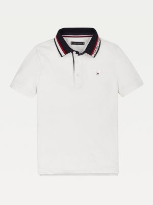 Tommy Hilfiger Colour-Blocked Collar Polo