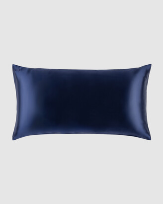 Slip Women's Navy Sleep - King Pillowcase Envelope Closure - Size One Size at The Iconic