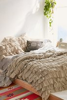 Urban Outfitters Waterfall Ruffle Duvet Cover