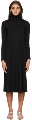MAX MARA LEISURE Black Turtleneck Dress