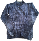 Christian Dior Blue Wool Top