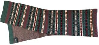 Balenciaga Burgundy Wool Scarves & pocket squares