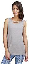 Zobha Women's Marshall Tank Top with Back Trim Detail and Double Neckline