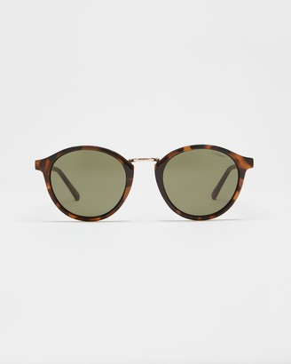 Le Specs Women's Brown Round - Paradox - Size One Size at The Iconic