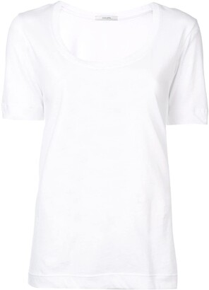Adam Lippes scoop neck T-shirt