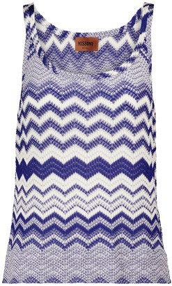 Missoni Stripes knit tank top