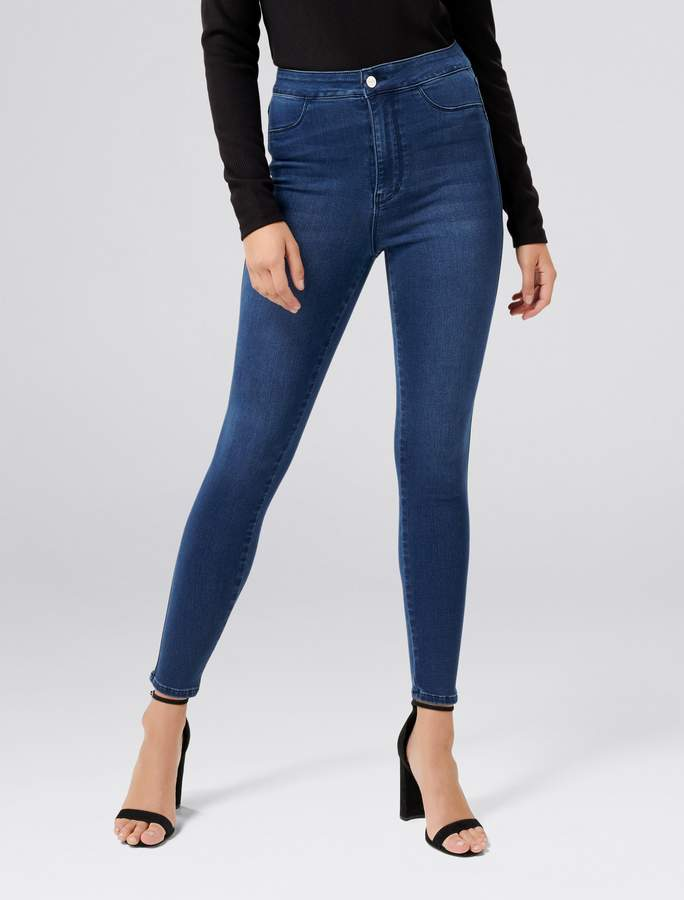 Forever New Madison High-Rise Jeggings - Cape Town Blue - 4