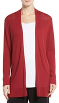 Eileen Fisher Women's Ribbed Silk & Organic Cotton Cardigan