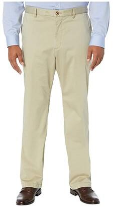 Tommy Bahama Big Tall Boracay Flat Front Pants (Khaki) Men's Casual Pants