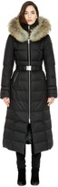 Soia & Kyo MARIANA-F Brushed down coat with removable fur in Black