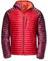 L.L. Bean Ultralight 850 Down Sweater, Hooded Colorblock