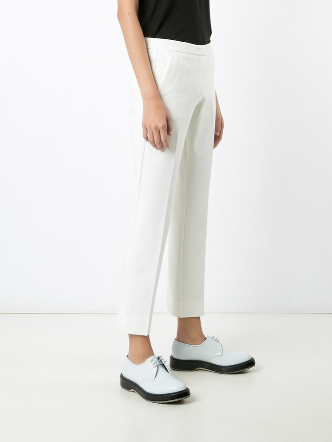 Derek Lam straight cropped trousers
