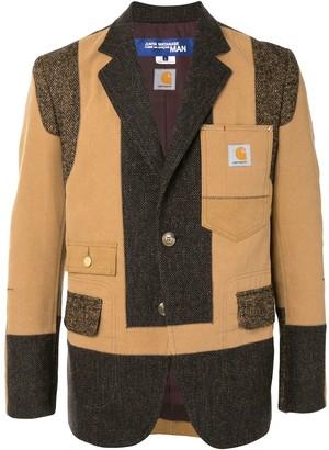 Junya Watanabe Colour-Block Panel Jacket