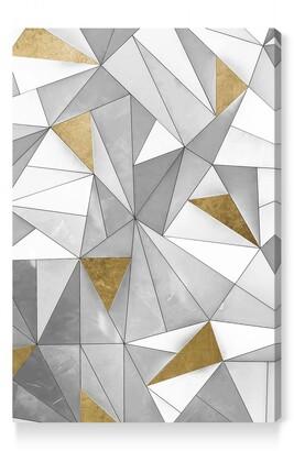 Oliver Gal Triangular Wall Canvas Wall Art