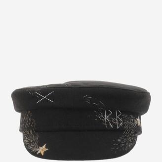 Ruslan Baginskiy Embroidered Baker Boy Hat