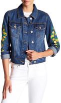 Bagatelle Embroidered Denim Jacket
