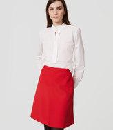 LOFT Petite Pocket Skirt