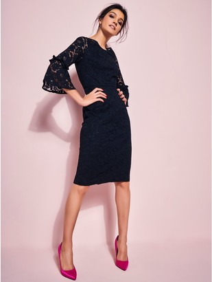 M&Co GLAMOUR lace pencil dress