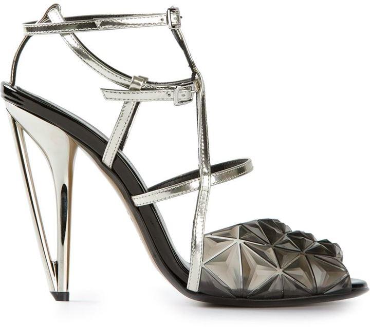 Fendi 'Iridia' diamond sandal