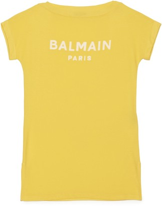 Balmain Logo T-Shirt Dress