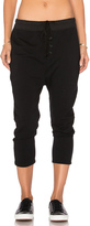 James Perse Slouchy Collage Sweatpant