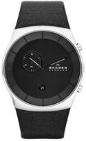 Skagen Men's Havene Chronograph Leather Strap Watch