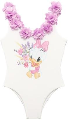 MonnaLisa Daisy Duck One Piece Swimsuit