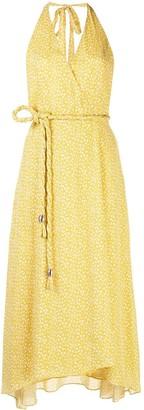 Nicholas Ditsy-print midi dress