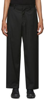 SASQUATCHfabrix. Black Wide-Leg Trousers