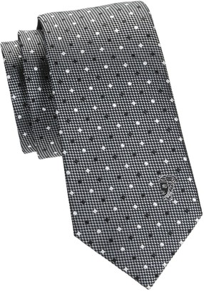 Versace Diamond Silk Tie