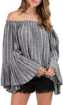 Elan International Off-The-Shoulder Top
