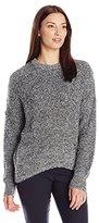Calvin Klein Jeans Women's Eyelash Rib Crew Neck