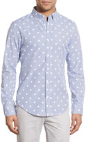 Bonobos 'Dot & Stripe' Slim Fit Poplin Sport Shirt