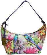 Anuschka Hand-Painted Leather East West Medium Hobo