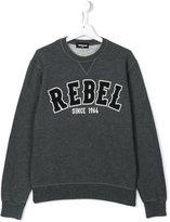 DSQUARED2 rebel print sweatshirt