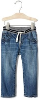 Gap 1969 Pull-On Denim Straight Jeans