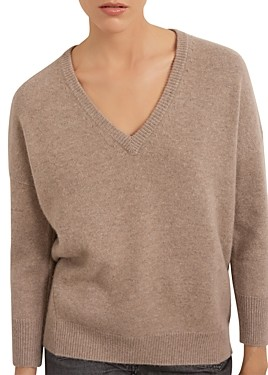 Gerard Darel Dally Oversized Cashmere Sweater