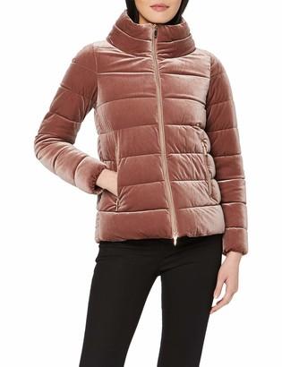 Geox Women's Felyxa Short Velvet Jacket Outerwear