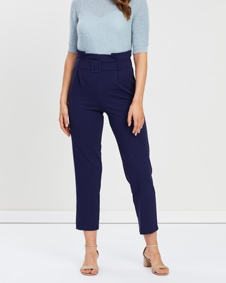 Dorothy Perkins Self Belt Paperbag Trousers