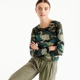 J.Crew Tippi sweater in camouflage