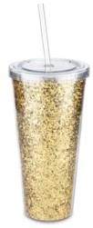Blush Lingerie Glam Double Walled Glitter Tumbler