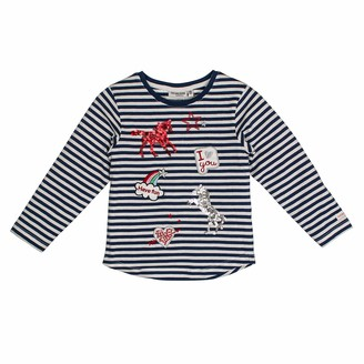 Salt&Pepper Salt and Pepper Girls' Horses mit vielen Applikationen Longsleeve T-Shirt
